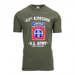 Camiseta militar WWII 82...