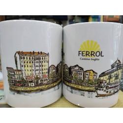 Taza de Ferrol Camino Inglés
