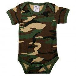 Body de bebé camuflaje con...