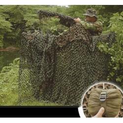 Red de camuflaje de 3 x 1.40 m
