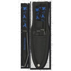 Cuchillos lanzadores ninja...