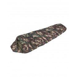 Saco de dormir momia Mil--Tec color camuflaje boscoso de 400 g