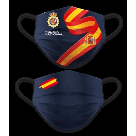 Mascarilla Policiía Nacional